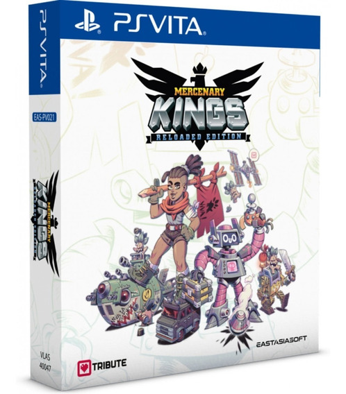 Mercenary Kings Reloaded Edition Ps Vita Midia Fisica