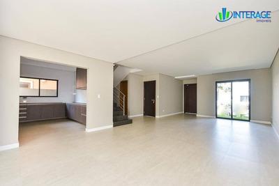 Casa Com 4 Dormitórios À Venda, 208 M² Por R$ 1.150.000 - Santa Quitéria - Curitiba/pr - Ca0222