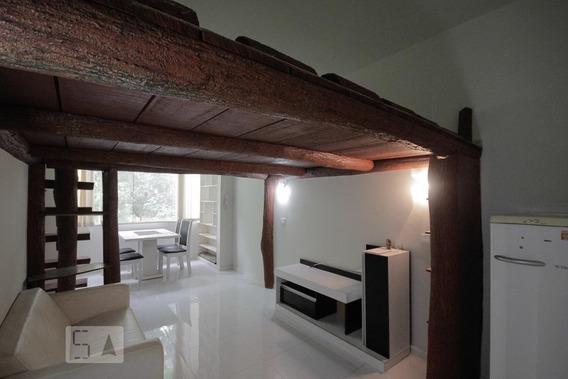 Apartamento Para Aluguel - São Conrado, 1 Quarto, 30 - 893020668
