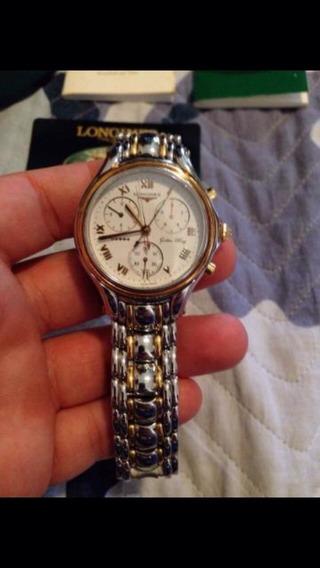 Relógio Marca Longines Em Ouro E Prata