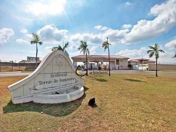 Terreno À Venda, 300 M² Por R$ 215.000 - Condomínio Terras Do Fontanário - Paulínia/sp - Te0289