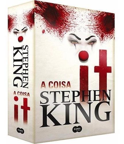 Livro It A Coisa Stephen King Suspense Terror - Lacrado