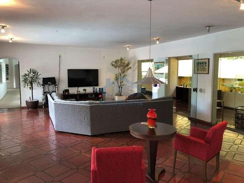 Casa Com 4 Dormitórios Para Alugar, 578 M² Por R$ 15.000,00/mês - Chácara Granja Velha - Cotia/sp - Ca0451