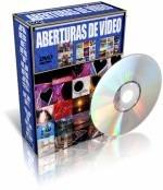 Aberturas Para Edição De Vídeo + Trilhas Sonoras - 6 Dvds