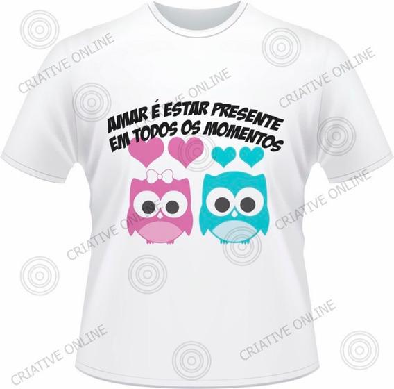 Camisetas Personalizada - Eu Te Amo