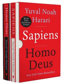 Box Livro Sapiens/homo Deus Box Inglês Capa Dura - Ed. Luxo