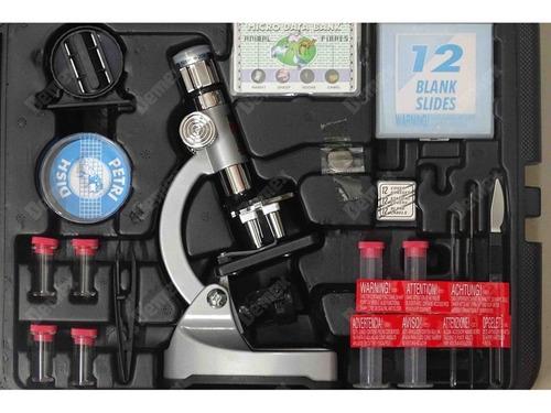 Microscópio 1200x Com Maleta 23cm - Ms 907 Im