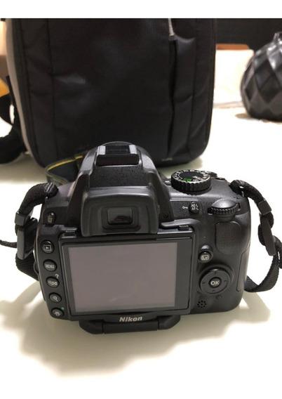 Câmera Fotográfica Nikon - D5000 Acompanha A Lente E Mochila
