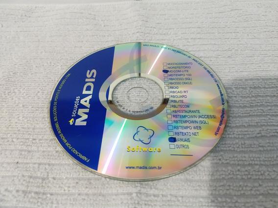 Cd - Soluções Madis Software - Mdcom-lite E Manuais