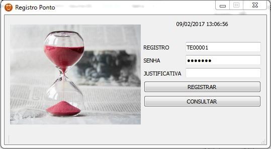 Software Relógio De Ponto No Pc