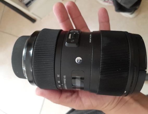 Lente Sigma Art 18-35m F1.8 Nikon