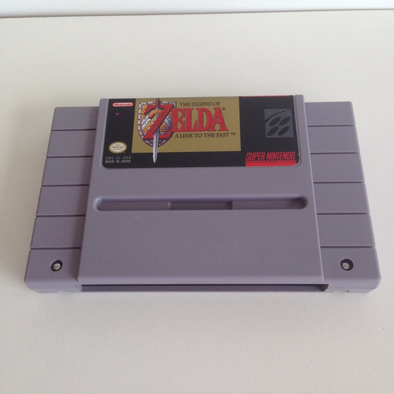 Cartucho The Legend Of Zelda Original - Super Nintendo