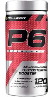 Cellucor P6 Original Testosterone Booster E U A 120 Caps
