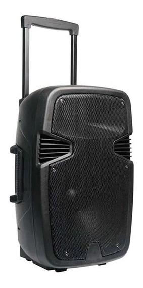 Caixa De Som Amplificadora 250w Com Bluetooth Usb Fm