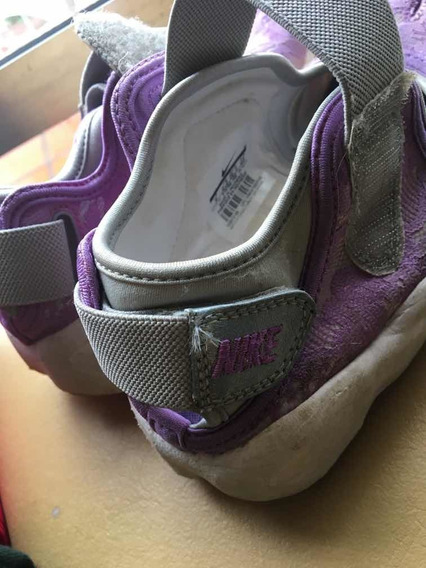 Zapatillas Nike Air Pezuñas Mujer Talle 36 Lila Violeta