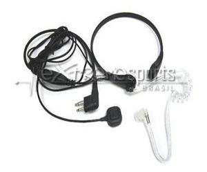 Fone De Ouvido (laringofone / Fbi) Plug Duplo - Kenwood