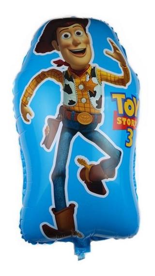 Globo De Bala De Woody Jumbo De Toy Story 60x40 Cm