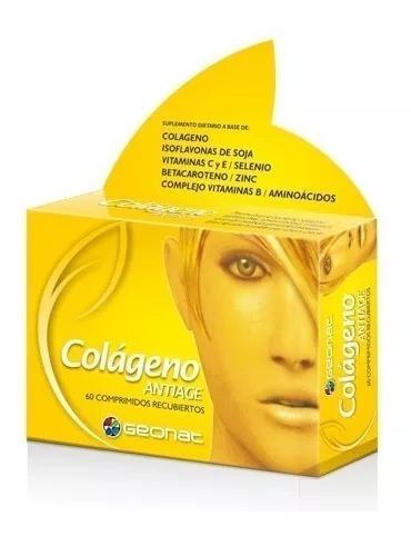 Geonat Colageno Antiage Piel Uñas Cabello X 60 Comprimidos