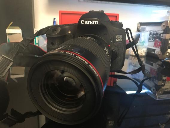 Câmera Canon 60d - Nova Demais