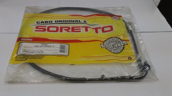 Cabo Soretto Acel A + B Cbx 250 01 A 08 (frete R$ 15,00)