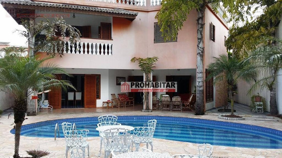 Casa Com 4 Dormitórios À Venda, 600 M² Por R$ 1.800.000,00 - Interlagos - São Paulo/sp - Ca2159