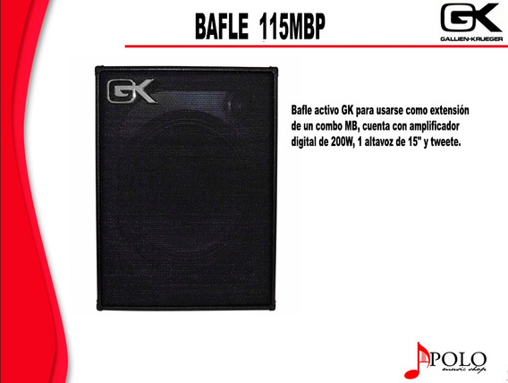 Bafle Gk P/bajo 115mbp