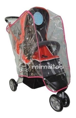 Plastico Forro Para Coche Bebe Protector Lluvia Polvo Frio