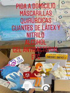 Guantes Nitrilo, Pruebas Y Mascarillas N95 Y Quirúrgicas.