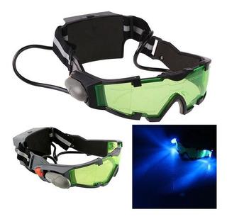 Óculos De Visão Noturna Com Luz De Led