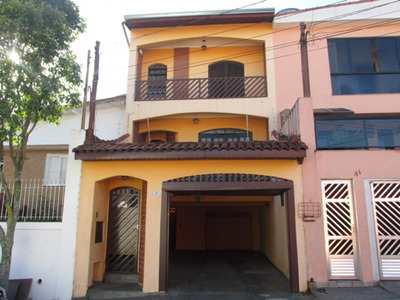 Casa Para Locação Anual No Jardim Haydée Em Mauá - Sp - 813
