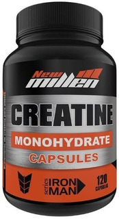 1 Creatine Monohydrate 120 Caps New Millen
