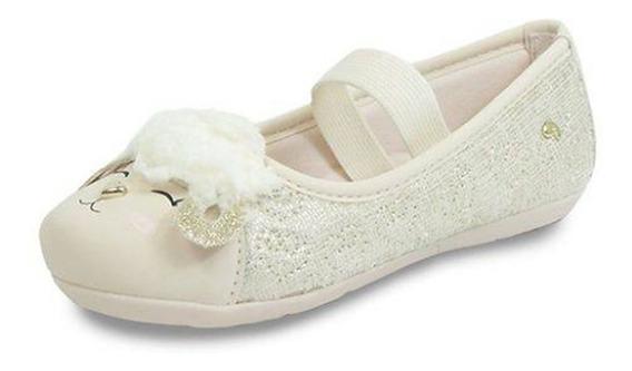Sapato Baby Ovelhinha Nude Frete Free Pampili 010615