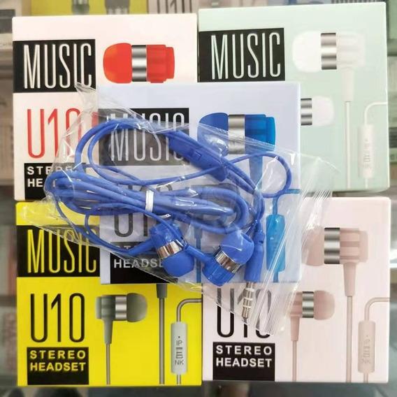 Audifonos Musica U10 Tlf, Mp3, Mp4, Mp5 Y Pc 2$ Al Mayor