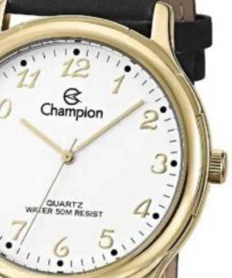 Relógio Champion Masculino Cn20033b Analógico Clássico