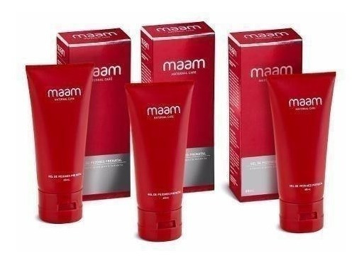 Pack X3 Maam Gel De Pezones, Prenatal, 60 Ml.