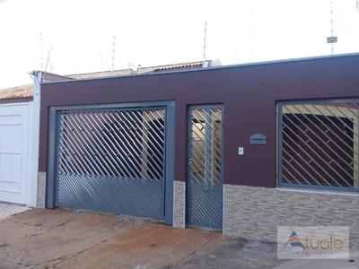 Casa Com 3 Dormitórios À Venda Ou Locação, 200 M² - Jardim Nossa Senhora De Fátima - Nova Odessa/sp - Ca6247
