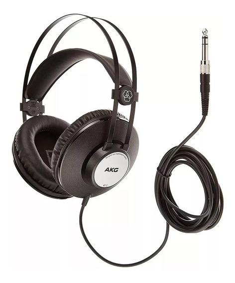 Fone Ouvido Akg K72 Profissional Headphone Original Estúdio