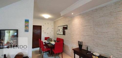 Imagem 1 de 19 de Imob01 - Casa 133 M² - 3 Dormitórios - 1 Suíte - Santa Terezinha - São Bernardo Do Campo/sp - Ca0168