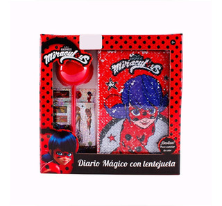 1 Set Diario Lentejuela Lady Bug Niña Juguete Mayoreo Full