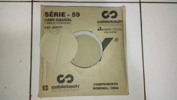 Caixa Cabo Rg59 100 Metros!
