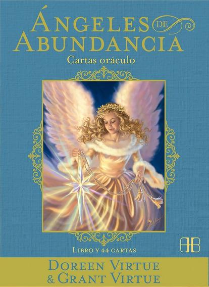 Ángeles De Abundancia, Cartas Oráculo Y Libro, Doreen Virtue