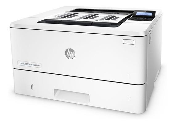 Impressora Laserjet Hp Pro M402dne Rede / Duplex 40ppm