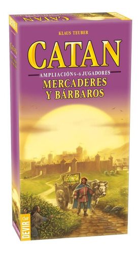Catan: Mercaderes Y Bárbaros 5-6 Jugadores