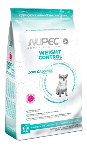 Imagen 1 de 2 de Nupec Alimento Perro Control Peso Razas Pequeñas 8kg *
