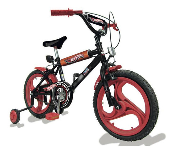 Bicicleta Rodado 16 Hotwheels