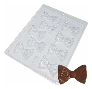 Forma Para Chocolate Gravata Borboleta Ref. 9425 - 5 Formas