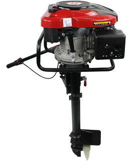 Motor De Popa Barco 6.5cv 4t + Rabeta Vertical De Popa