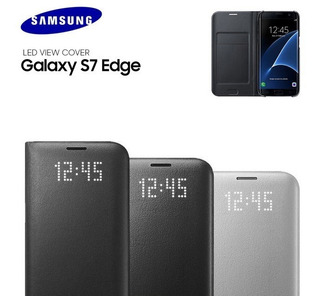 Samsung Led View Flip Cover Para S7 Edge Tienda En Stock!!
