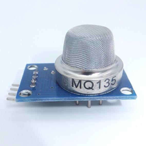 Módulo Mq135 Sensor De Calidad Del Aire Nh3 Nox Benceno Co2