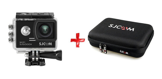 Câmera Sjcam Sj5000x Elite Wifi 4k Ultra Hd 12mp + Case